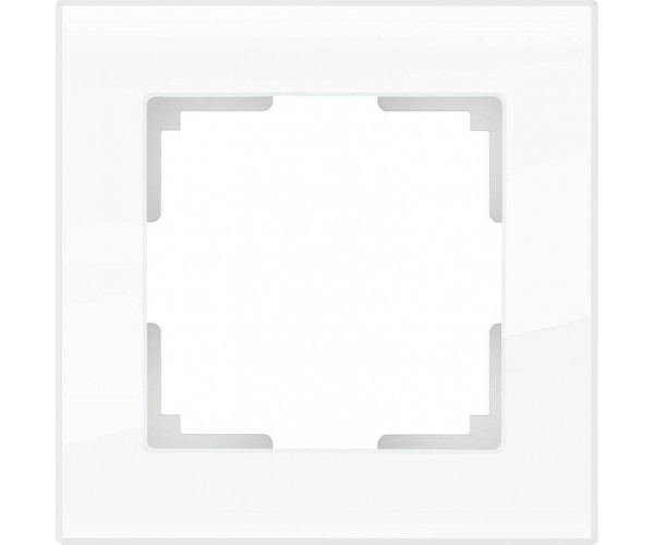 Рамка на 1 пост WL01-Frame-01 Белый