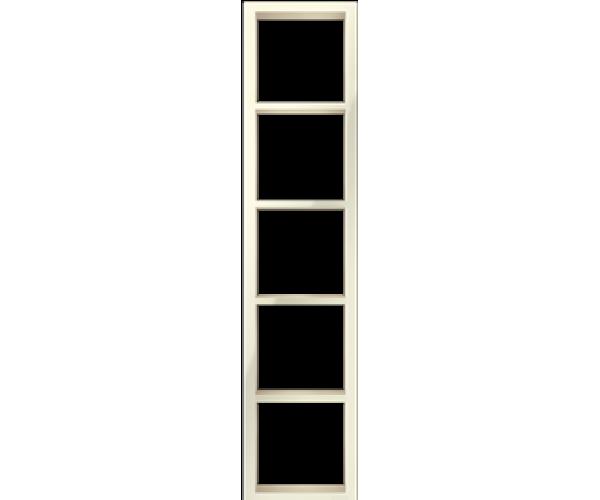 """Пятипостовая вертикальная рамка бежевая CGSS """"Практика"""""""