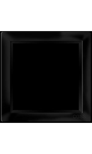 "Однопостовая рамка черная матовая CGSS ""Практика"""