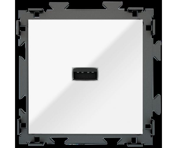 """Розетка USB белая CGSS """"Практика"""""""