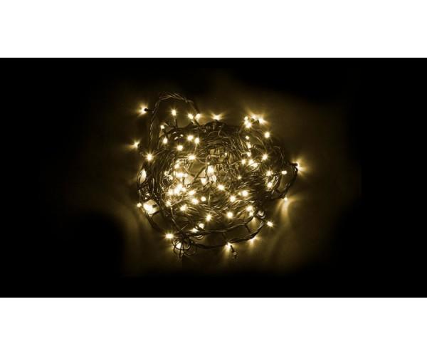 Светодиодная гирлянда линейная 10м 230V теплый свет (2700К) CL05