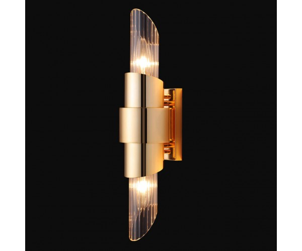 Бра Crystal Lux Justo AP2 Gold