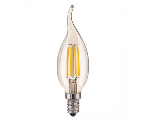 Светодиодная лампа  Свеча на ветру 6W 3300K E14