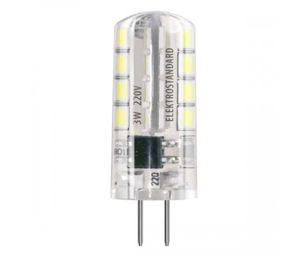 Светодиодная лампа G4 SMD 3W AC 220V 360° 3300K