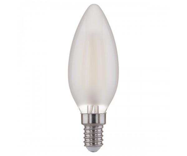 Лампа светодиодная Свеча BL113 7W 4200K E14 белый матовый