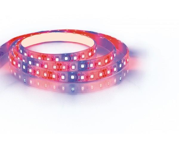 Подсветка для цветов  LED лента 20SMD(2835)/м 9.6 Вт/м  5м IP65 12V