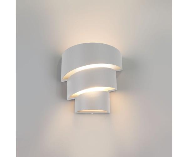 Настенный светодиодный светильник HELIX белый IP64