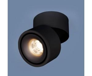 Накладной потолочный светодиодный светильник  3100 DLR031 15W 4200K черный матовый