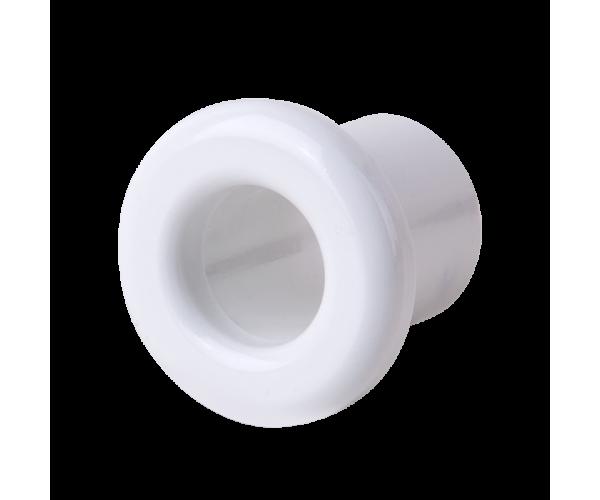 Втулка для вывода кабеля из стены (белый) Ретро WL18-18-01