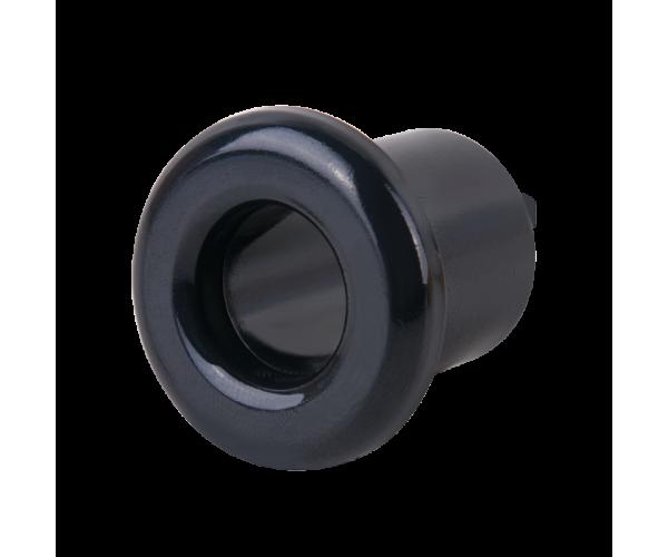 Втулка для вывода кабеля из стены (черный) Ретро WL18-18-01