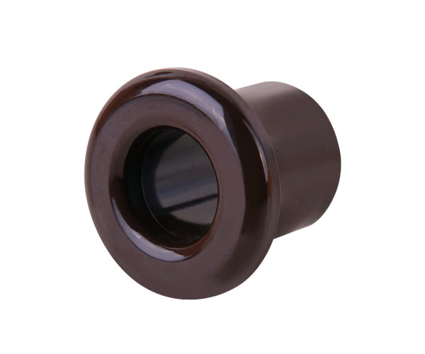 Втулка для вывода кабеля из стены (коричневый) Ретро WL18-18-01