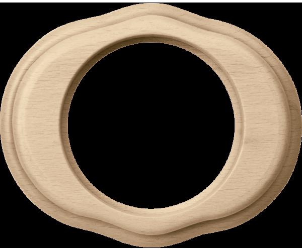 Рамка на 1 пост (светлый бук) WL20-frame-01