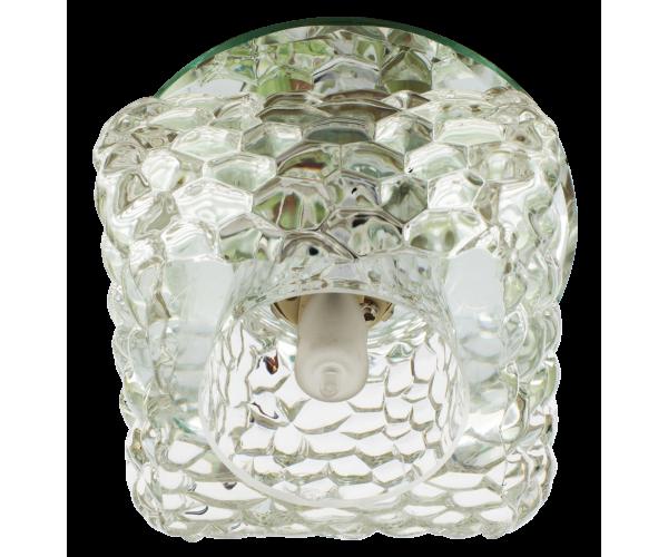 Светильник хром + прозрачный FT 9284 CL