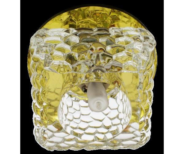 Светильник  золото + прозрачныйFT 9284 YL
