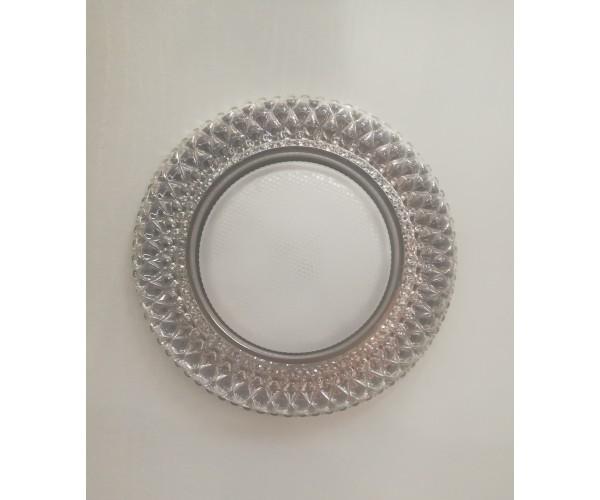 Светильник с подсветкой метал\зеркальный FT 9150 CHWH