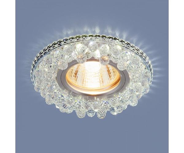 Светильник со светодиодной подсветкой 2211 MR16 CL прозрачный