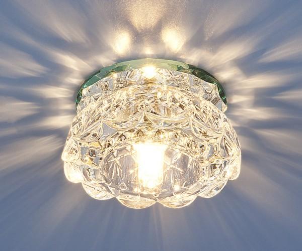 Точечный светильник 6240 G9 зеркальный/прозрачный