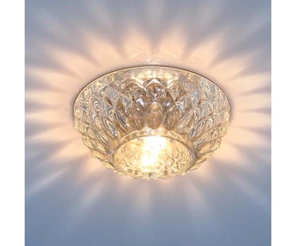 Точечный светильник со стеклом  1101 G9 CL прозрачный