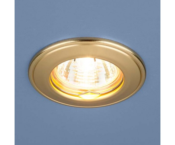 Светильник точечный  7002  матовое золото