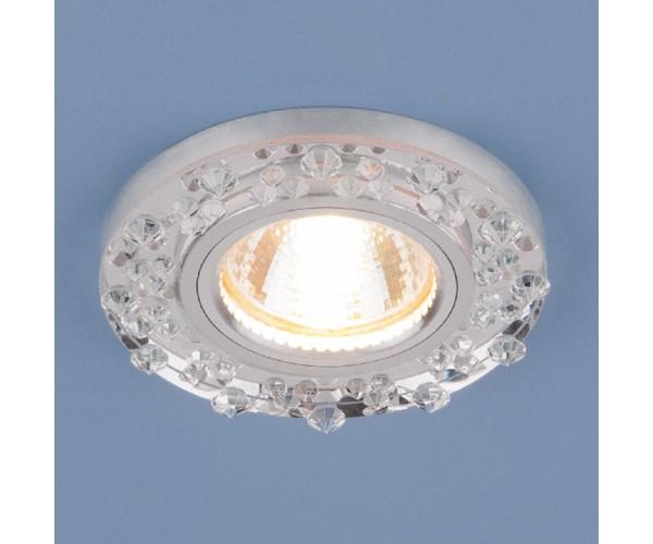 Светильник точечный 8260 зеркальный/серебро