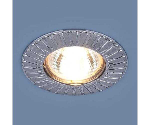 Светильник точечный 7203 сатин хром
