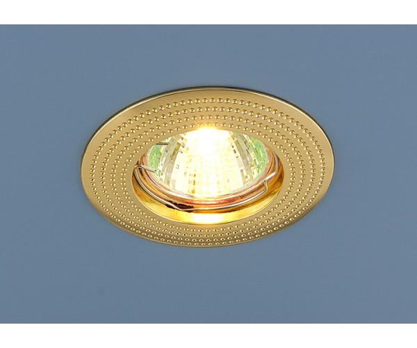 Светильник точечный  золотой 601 MR16 GD золото