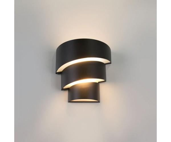 Настенный светодиодный светильник 1535 TECHNO LED 15 Вт черный