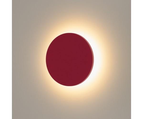 Настенный светодиодный светильник 1660 TECHNO LED красный