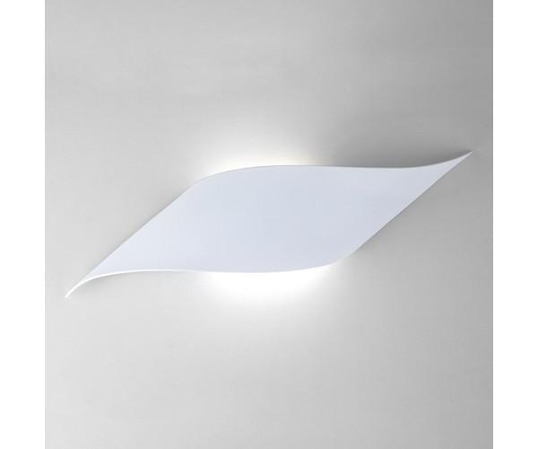 Настенный светодиодный светильник белый 40130/1 LED 6 Вт белый