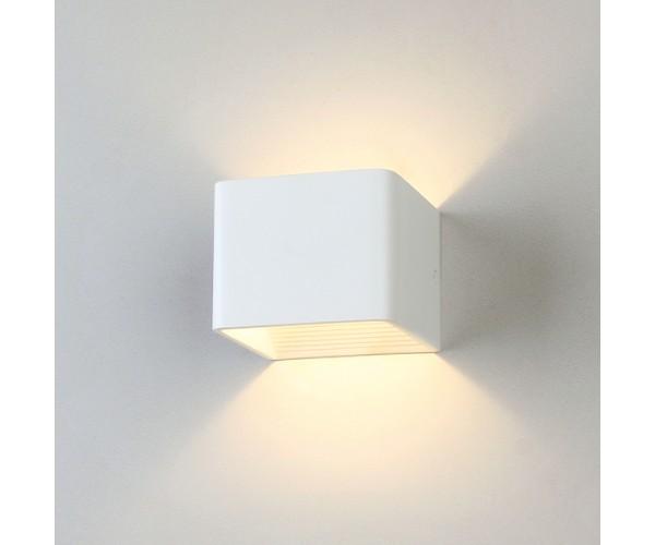 Настенный светодиодный светильник MRL LED 1060 6 Вт белый