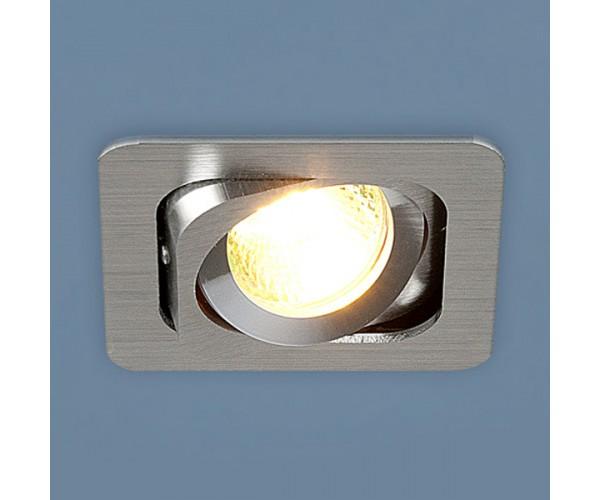 Светильник  поворотный точечный алюминиевый 1021/1 MR16 CH хром