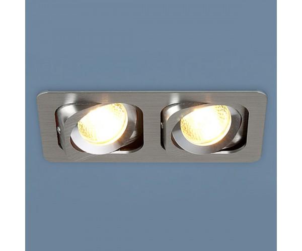 Светильник  поворотный точечный алюминиевый 1021/2 MR16 CH хром