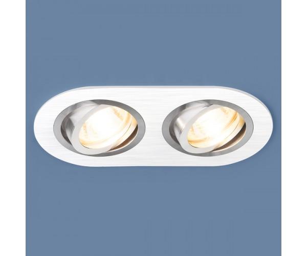 Светильник поворотный точечный алюминиевый 1061/2 MR16 WH белый