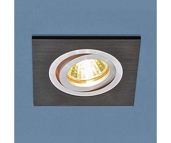 Светильник поворотный точечный алюминиевый 1051/1 BK черный