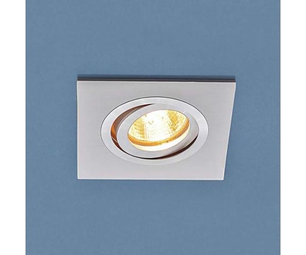 Светильник поворотный точечный алюминиевый 1051/1 WH белый