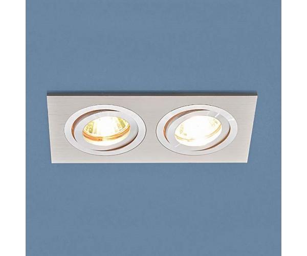 Светильник поворотный точечный алюминиевый 1051/2 WH белый