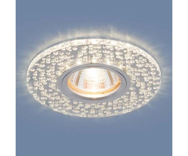 Светильник со светодиодной подсветкой 2199 MR16 CL зеркальный/прозрачный