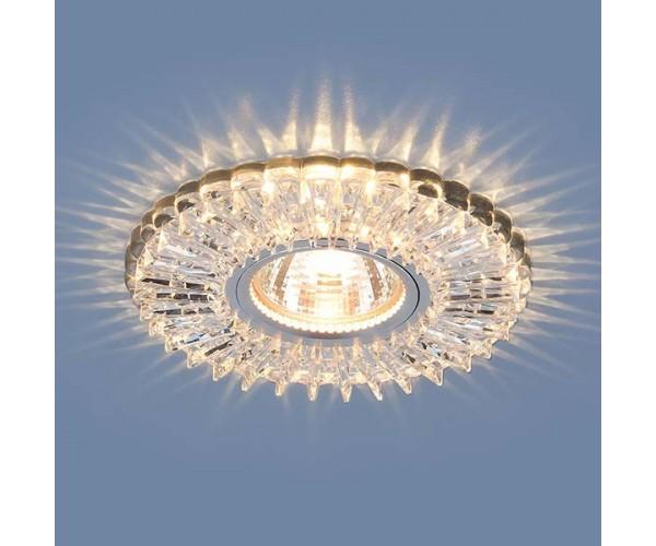 Светильник со светодиодной подсветкой 2204 MR16 CL прозрачный