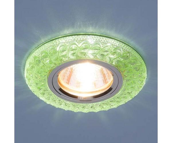 Светильник со светодиодной подсветкой  2180 MR16 GR зеленый