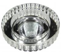 Светильник со светодиодной подсветкой FT1020 CHCL