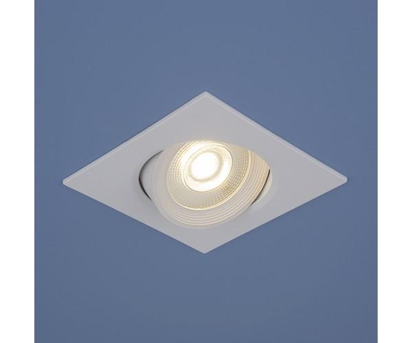 Встраиваемый потолочный светодиодный светильник 9907 LED 6W WH белый