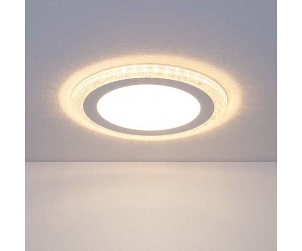 Встраиваемый потолочный светодиодный светильник DLR024 10W 4200K