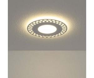 Встраиваемый потолочный светодиодный светильник  DSS003 6W 4200K