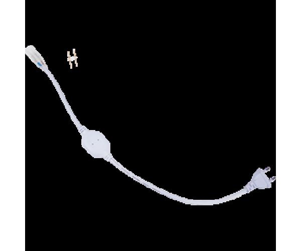 Блок питания 700W для ленты 220V  IP68 с кабелем, муфтой, разъемом и вилкой