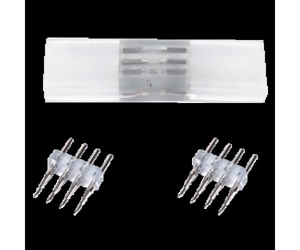 Коннектор для упрошенного соединения ленты RGB 4-х контактный