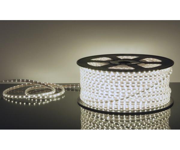 Лента светодиодная Ecola 220 v. 14.4 вт. 6000 к. ( Белая ) IP 68