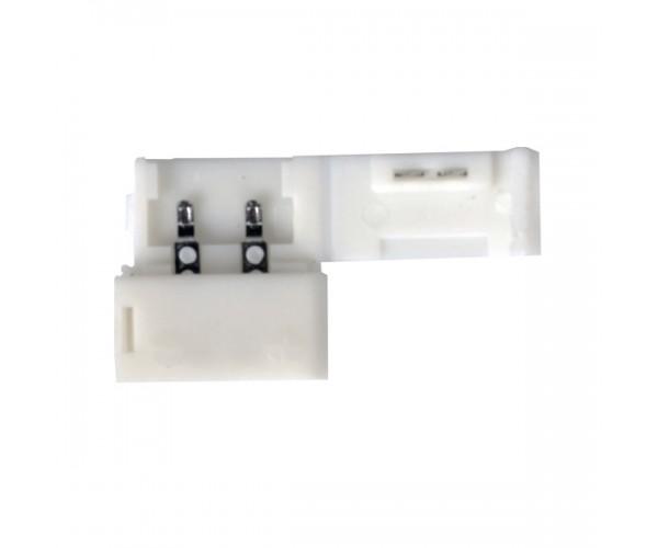 Коннектор 1A для одноцветной светодиодной ленты 3528 жесткий