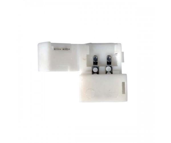 Коннектор 2A для одноцветной светодиодной ленты 5050 жесткий