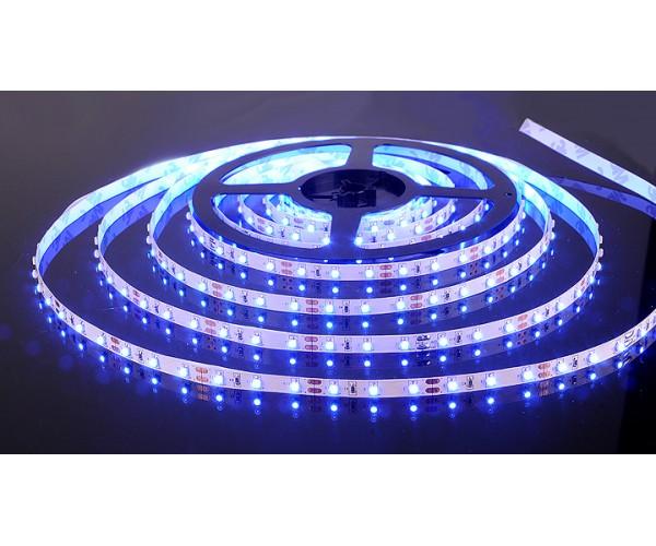 Светодиодная лента 3528/60 LED 4.8W IP20 синий свет