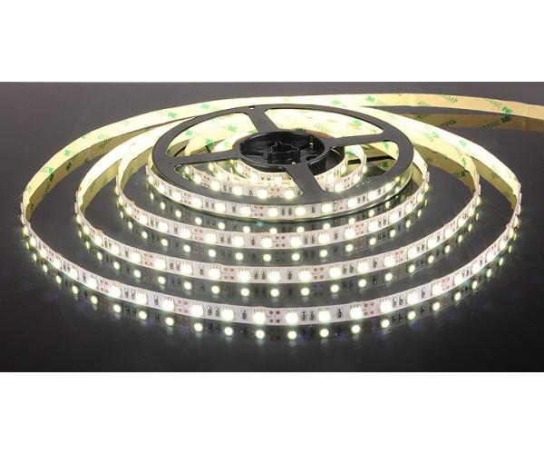 Светодиодная лента 5050/60 LED 14.4W IP20 белый свет